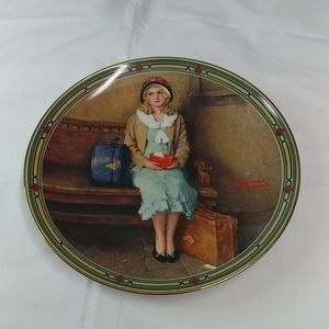 """""""A Young Girl's Dream"""" 1985 Limited edition plate"""